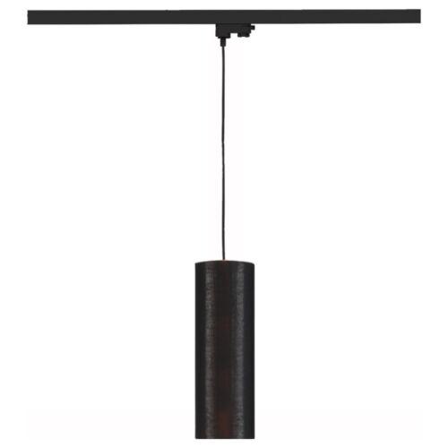 Pendelleuchte Fenda für 3-Phasen-Schienensysteme 150 m schwarz//kupfer schwarz