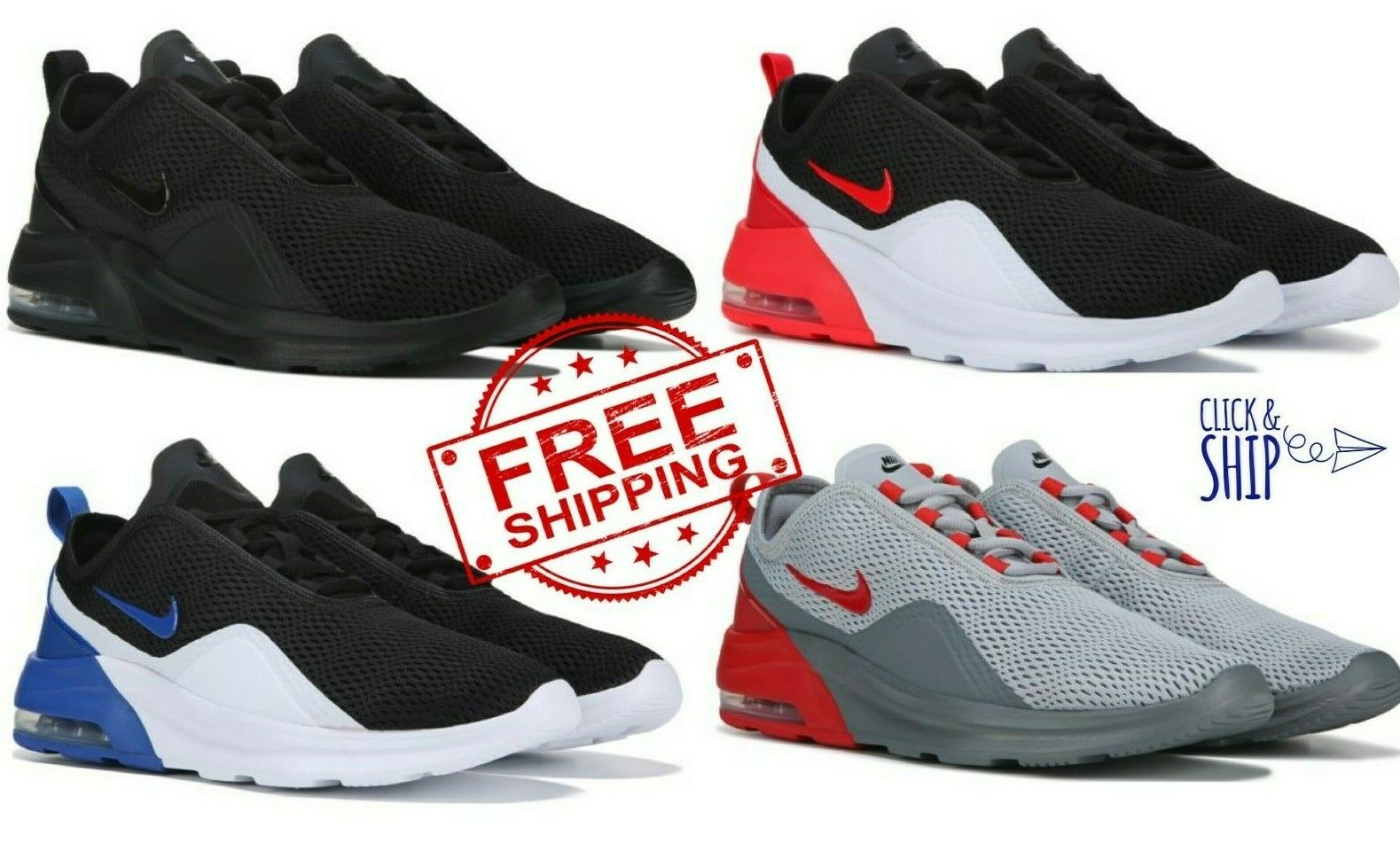 NIKE AIR MAX MOTION 2 MENS Casual Running Cross Training shoes Sneakers 270 NEW
