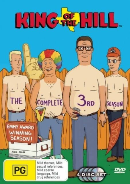 King Of The Hill : Season 3 (DVD, 2007, 4-Disc Set)