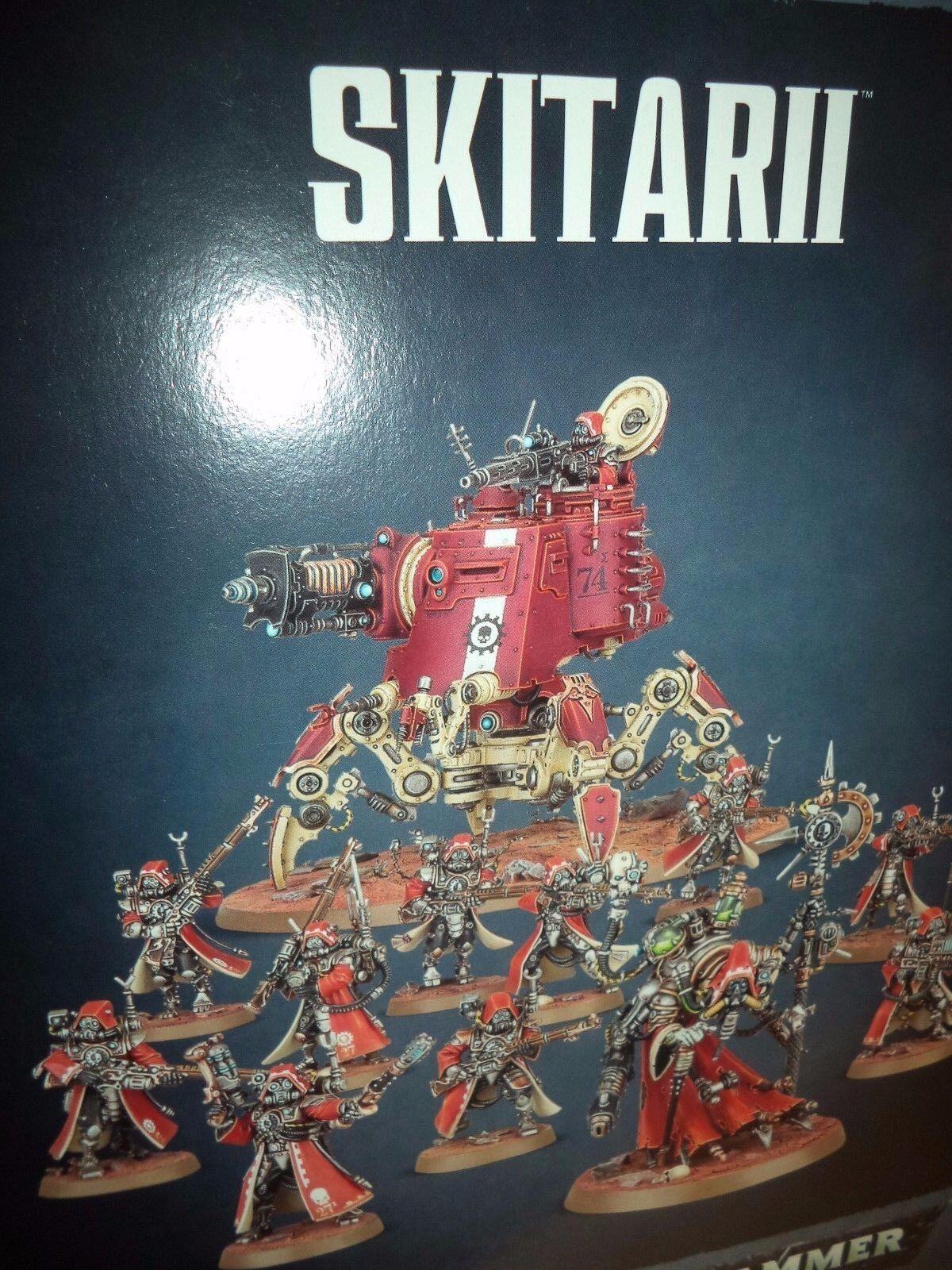 Empezar a recolectar Skitarii-Warhammer 40k 40,000 40,000 40,000 Juegos taller Modelo Nuevo   barato