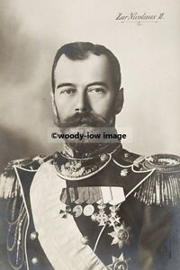 mm875 russian czar nicholas ii royalty photo 6x4 ebay