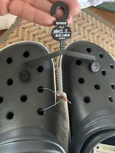 Crocs Zapatos Tenis Con Raro Negro