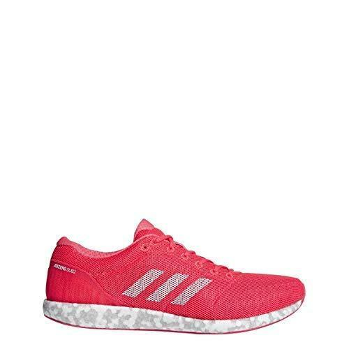 Adidas B37408 adidas Adizero Sub 2 shoes Mens Running 9 Shock Red-White-Action
