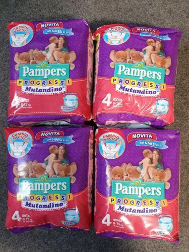 Pampers Progressi Mutandino Pants Windeln Größe 4 Maxi 8–15 kg 76 Windeln WE53