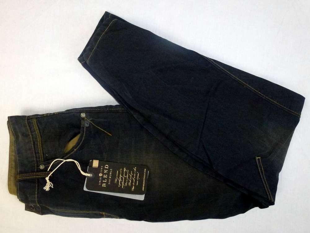 Blend Cruved Leg JEANS 34 Dark bluee  New
