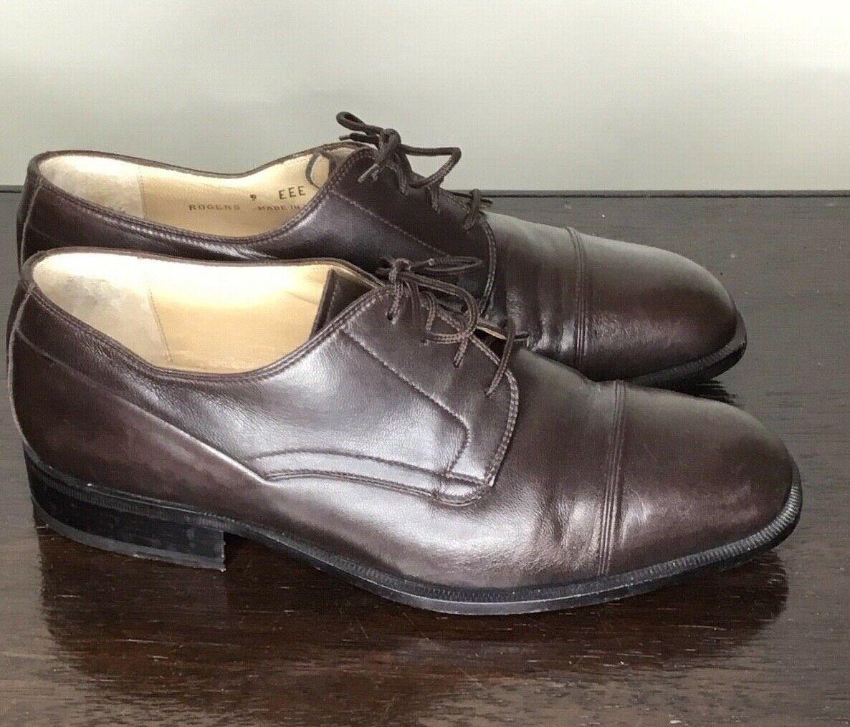 Herren Bally Kappe Zehen Schuhe Größe 9eee