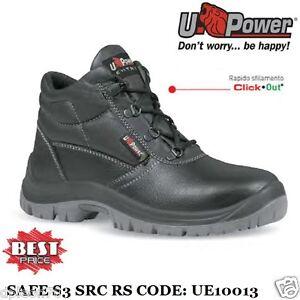 scarpe casual enorme inventario morbido e leggero Details about SCARPE ANTINFORTUNISTICA U-POWER SAFE S3 SRC RS PUNTA ACCIAIO  UPOWER UE10013