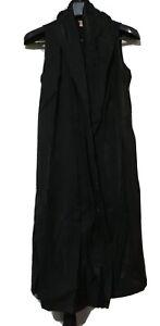 JP-brand-Black-Sleeveless-Wrap-Dress