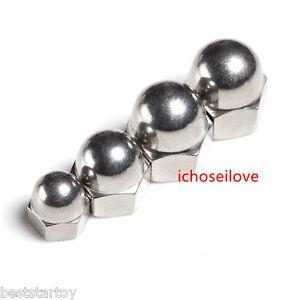 1-10Pcs M3-M20 Stainless Steel Acorn Hex Cap Nuts Hexagonal Nut HOT