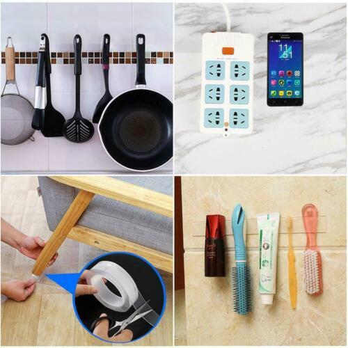 3M Nano Magic Clara De Doble Cara Cinta de agarre confort Adhesivo lavable extraíble