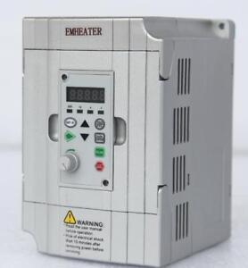 0.75kw 220V~240V Frequency Drive Inverter Converter VFD1HP input 8.2A output 4A