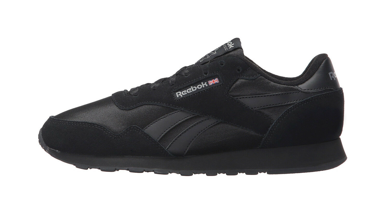 51dd9c0a0da Reebok Royal Nylon BD1554 All Black Carbon Mens US Size 9.5 UK 8.5 ...