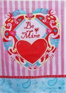 Be-Mine-Garden-Flag-by-Toland-8048-12-034-x-18-034-Valentine-Last-one