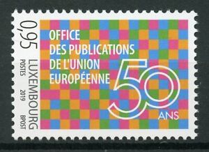 Luxembourg-2019-MNH-EU-Publications-Office-European-Union-50-Yrs-1v-Set-Stamps