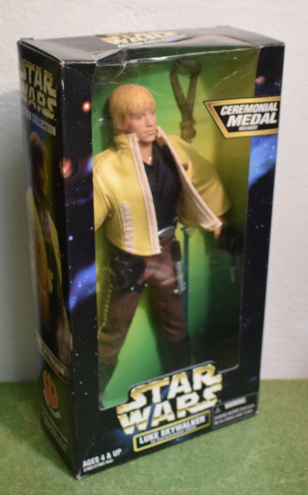 STAR WARS ACTION COLLECTION 12  LUKE SKYWALKER in CEREMONIAL GEAR  | Bekannt für seine schöne Qualität