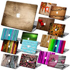 Wood Painting Hard Case Cover +KB +SP For Macbook Pro Air 11