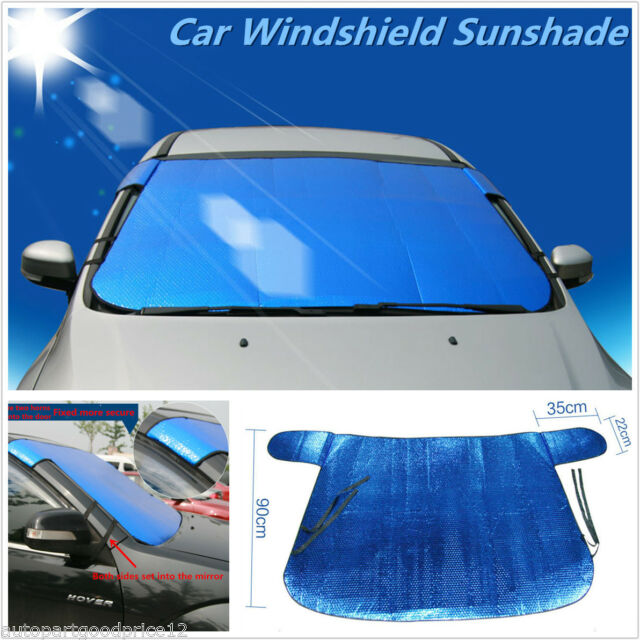 Buy Auto Car Front Window Visor Sun Shade Foldable Windshield Block Cover  Waterproof online  593da83c691