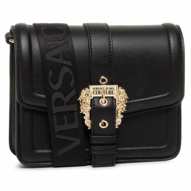 dettagli su borsa tracolla versace jeans linea l dis.1