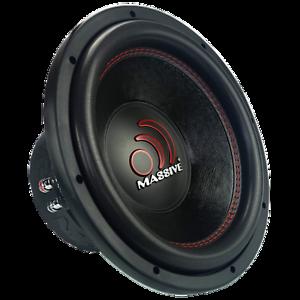 "Massive Audio GTX 124R 2000 Watts 12"" Dual 4 Ohm DVC Car Audio Subwoofer New"