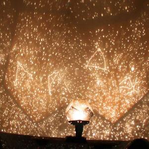 Details Sur Romantic Star Planetarium Star Master Projector Night Light Lamp Diy Room Decor