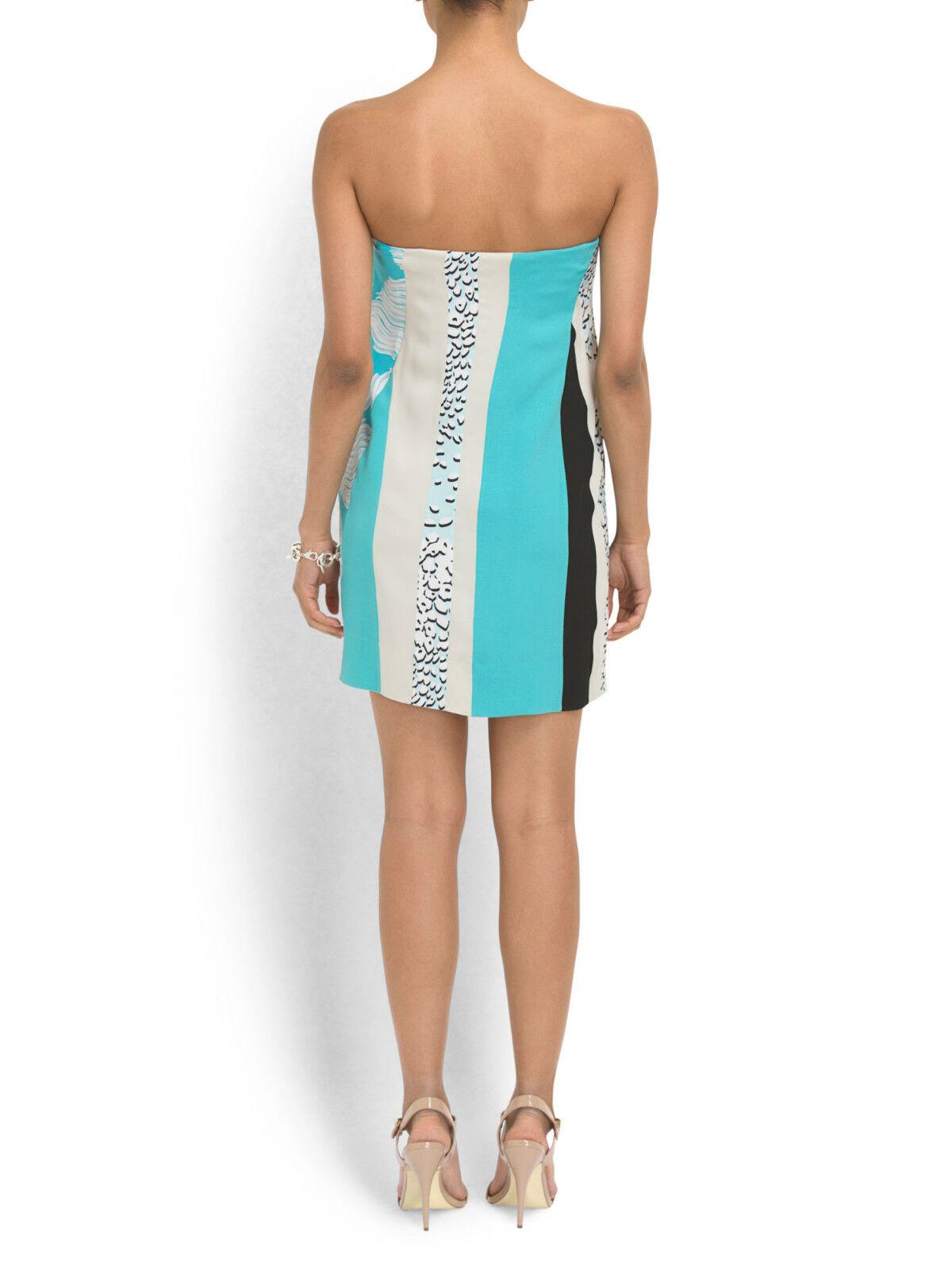 Diane von von von Furstenberg Dress - Rhi-Rhi Strapless Dress in Halo Mist-NWT-RP   425 a5a92d