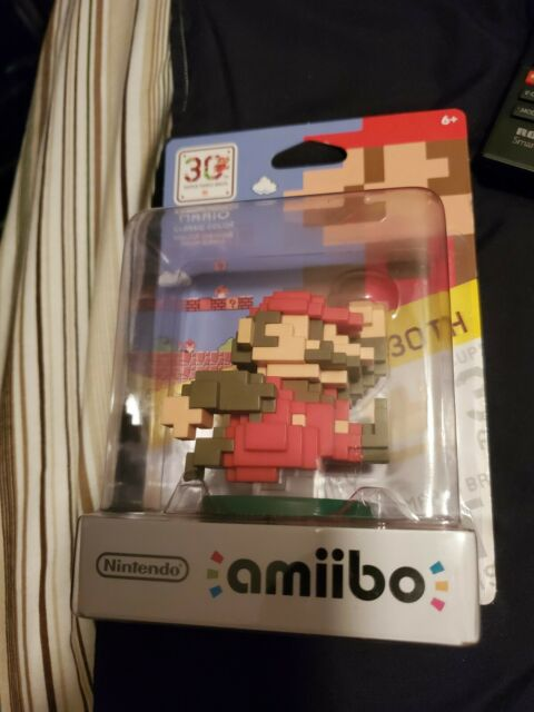 Mario Classic Color Amiibo For Nintendo 3DS Wii U 30th Anniversary Series SEALED