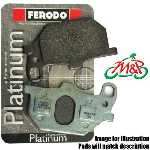 Triumph DAYTONA 955i 2004 (Double Sided Swinging Arm) Platinum Rear Disc Pads