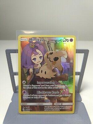 245//236 Mimikyu Secret Rare Pokemon Cosmic Eclipse NM