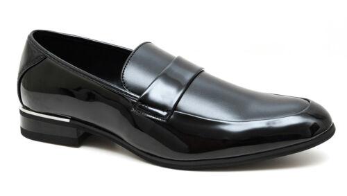 Cerimonia Class Da Uomo Shoes Nero A Mocassini Eleganti Man's 40 Scarpe 45 HFxqw