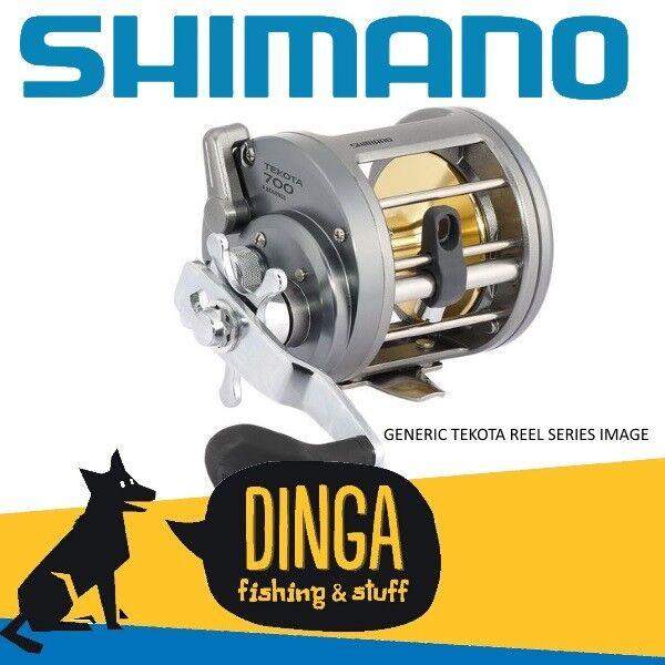 Shimano Tekota 800 Overhead Levelwind Fishing Reel