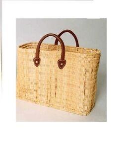 Einkaufstasche-aus-Seegras-stabile-Ausfuehrung-Griffe-aus-Leder-gross