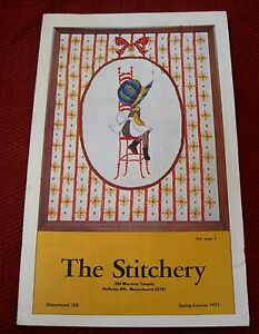 The-Stitchery-Spring-Summer-1973-Catalog-Needlpoint-Kit-Color-Booklet-T20