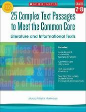 25 Complex Text Passages to Meet the Common Core: Literature and...