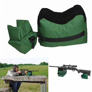 Large-Shooting-Range-Sand-Bag-Set-Rifle-Gun-Bench-Rest-Stand-Front-amp-Rear-Bag-US