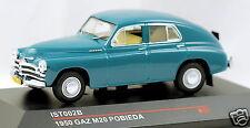 1/43 scale IST Models IST002B russian soviet GAZ M20 Pobieda 1953 USSR CCCP HTF