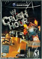 Wwe Crush Hour (nintendo Gamecube, 2003) Factory Sealed