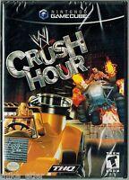 Wwe Crush Hour (nintendo Gamecube, 2003) Factory Sealed