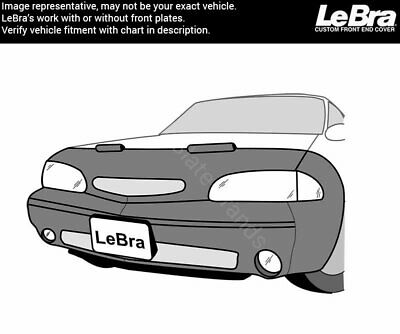 Vinyl Black 55519-01 LeBra Front End Cover Dodge and Plymouth