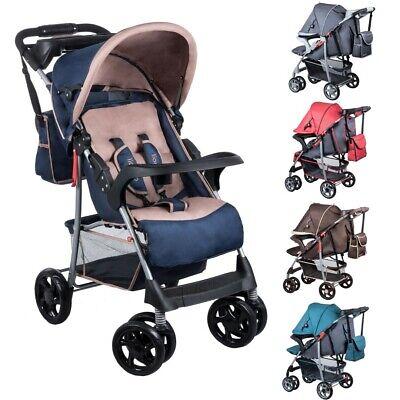 Lionelo Liv Kinder Buggy Kinderwagen Kindersportwagen Babywagen Jogger Blau