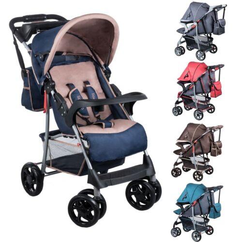Lionelo Emma + bambini Buggy Passeggino Bambini Auto Sportiva Carrello Baby SPORT Jogger