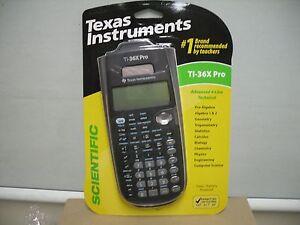 Details about Brand Texas Instruments TI-36X Pro Scientific Calculator