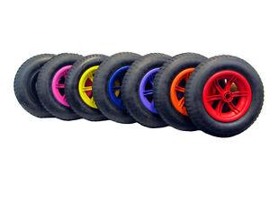spoked 14 pneumatic wheelbarrow wheel tyre 8 inner tube innertube ebay. Black Bedroom Furniture Sets. Home Design Ideas