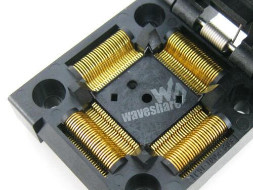 QFP100 TQFP100 IC51-1004-809 Yamaichi IC Test Burn-in Socket Adapter 0.5mm Pitch
