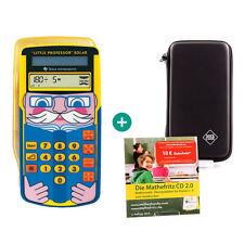 TI Little Professor Taschenrechner + Schutztasche und MatheFritz Lern-CD