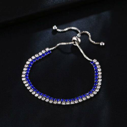 Bracelet Bracelets Double Couche Pour Femme cadeaux réglable Zircon Tennis