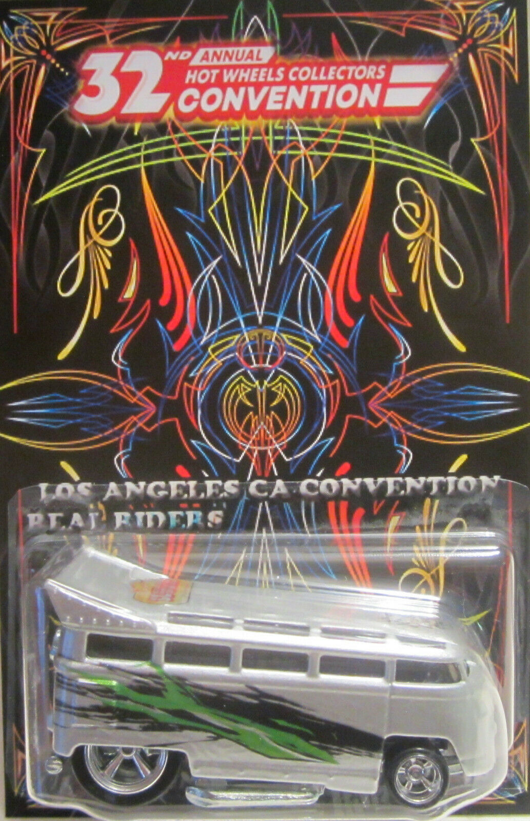 Personnalisé Volkswagen Drag Bus 32nd Hot Wheels Convention Real Riders