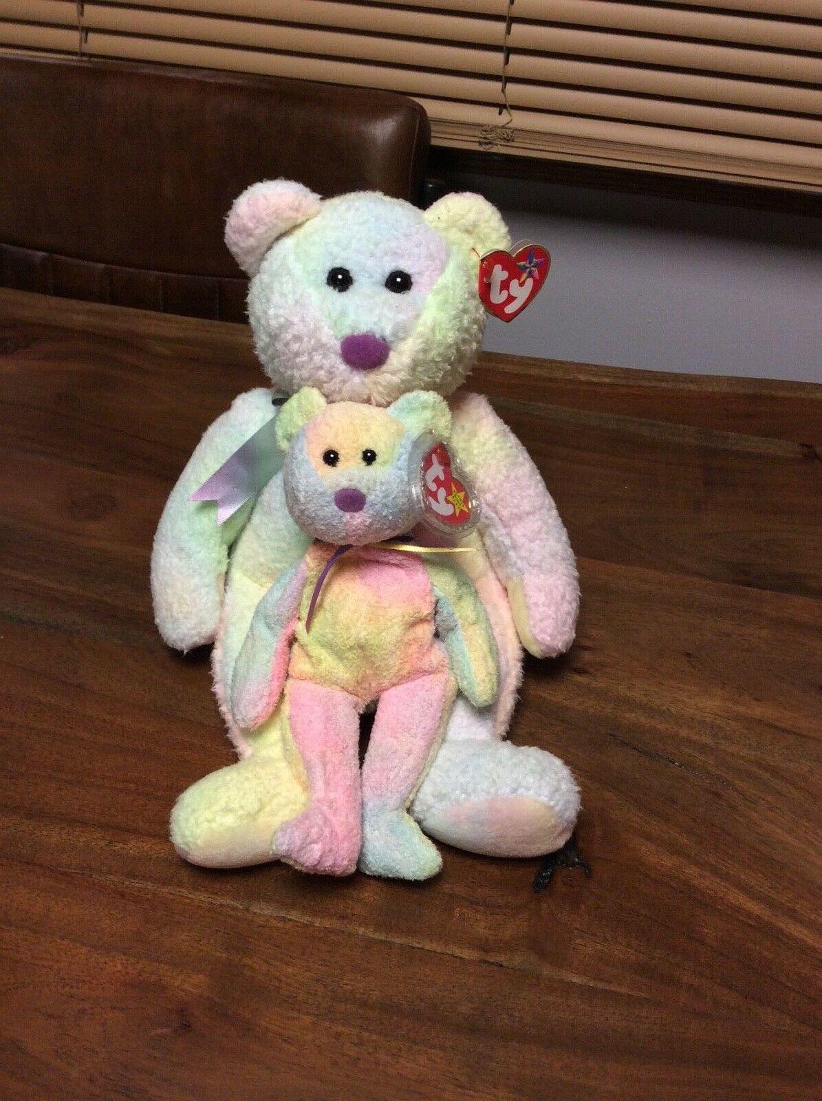 RARE BEANIE BABIES AND BEANIE BUDDY GROOVY RARE TUSH TAG ON BEANIE BABY