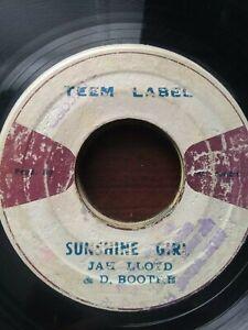 Jah-Lloyd-amp-D-Boothe-Sunshine-Girl-7-034-Vinyl-Single-1973-ROOTS-REGGAE