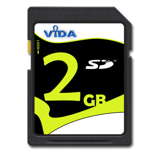 NUOVO ORIGINALE Vida IT 2GB HIGH SPEED Scheda di memoria SD per TomTom GO 300 GPS NAV UK