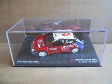 Rally Model Car IXO 1:43 CITROEN XSARA WRC Argentina 2004 C. Sainz [MZ13]